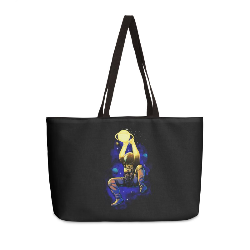 SATURN DUNK Accessories Weekender Bag Bag by ES427's Artist Shop