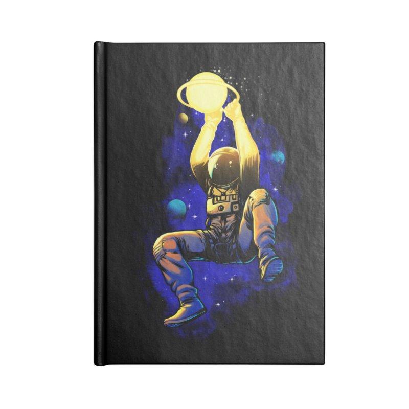 SATURN DUNK Accessories Lined Journal Notebook by ES427's Artist Shop