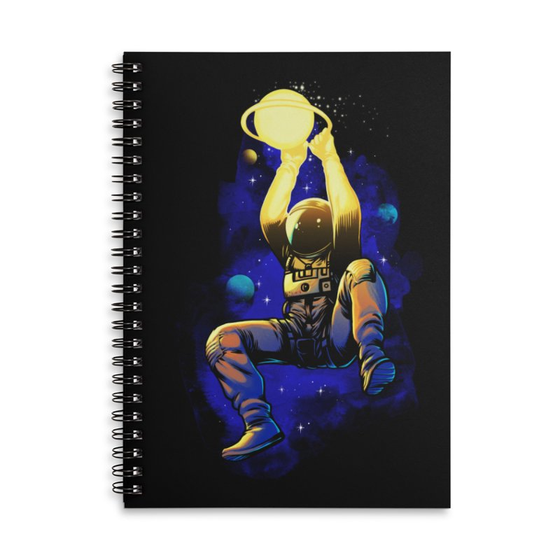 SATURN DUNK Accessories Lined Spiral Notebook by ES427's Artist Shop
