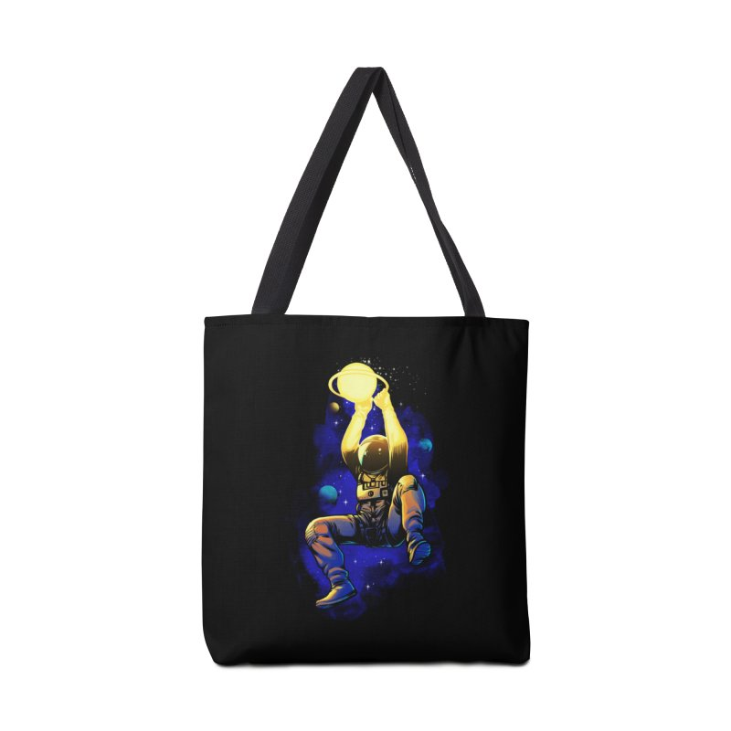SATURN DUNK Accessories Tote Bag Bag by ES427's Artist Shop