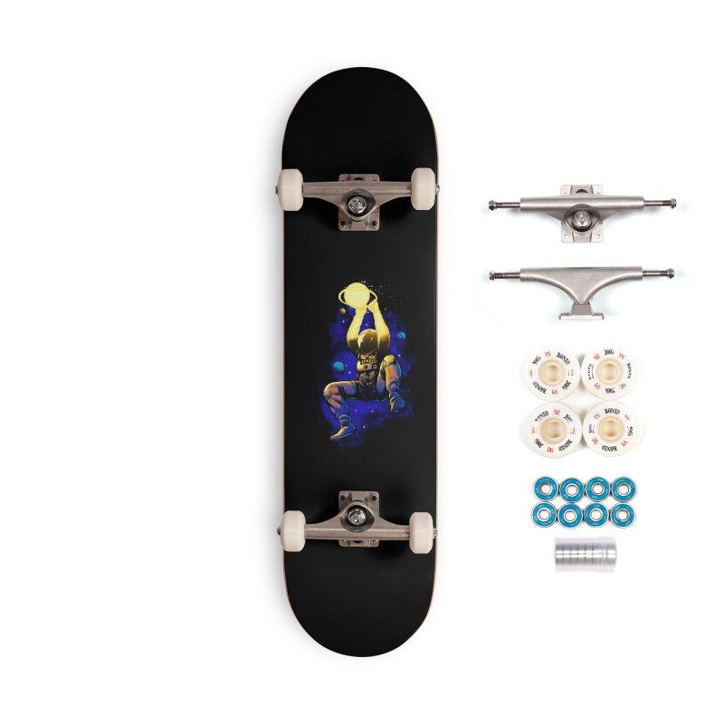 SATURN DUNK Accessories Complete - Premium Skateboard by ES427's Artist Shop