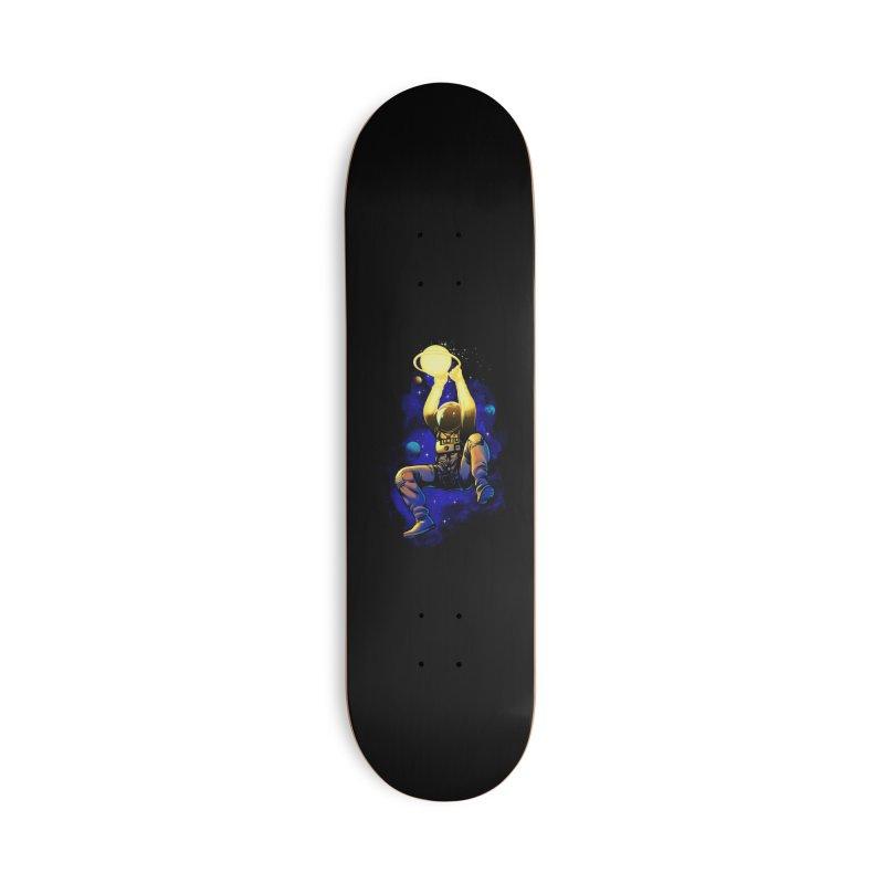 SATURN DUNK Accessories Deck Only Skateboard by ES427's Artist Shop