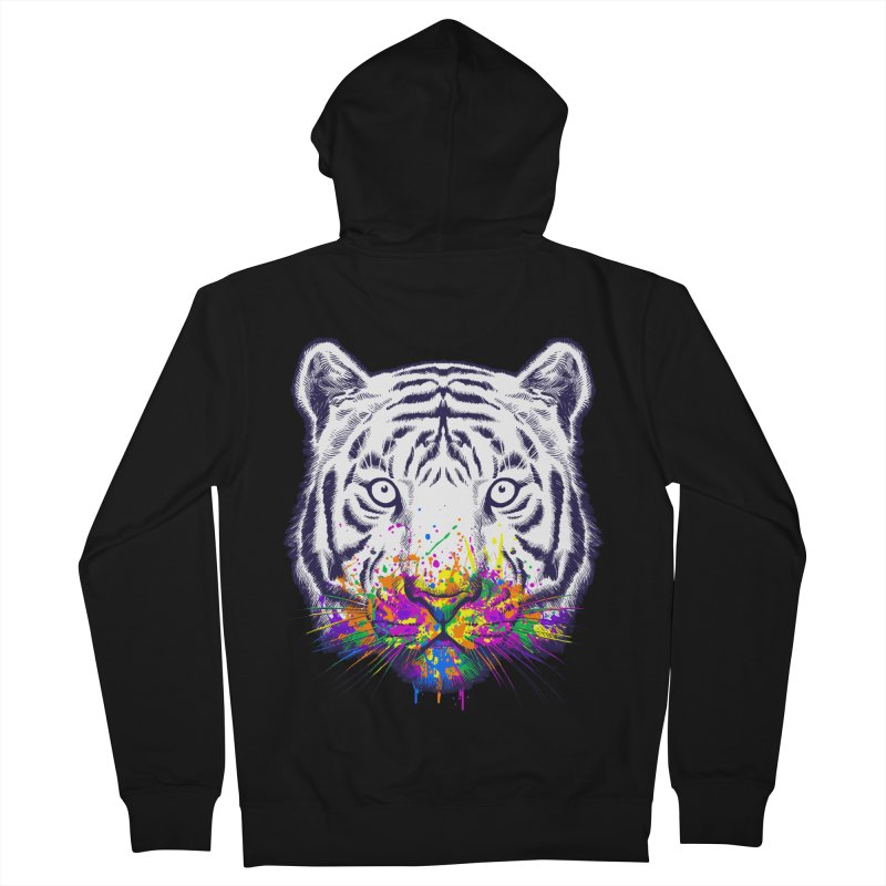 I didn't see rainbow Men's French Terry Zip-Up Hoody by ES427's Artist Shop
