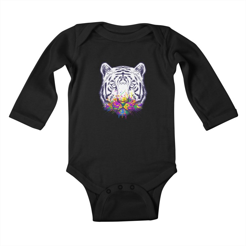 I didn't see rainbow Kids Baby Longsleeve Bodysuit by ES427's Artist Shop