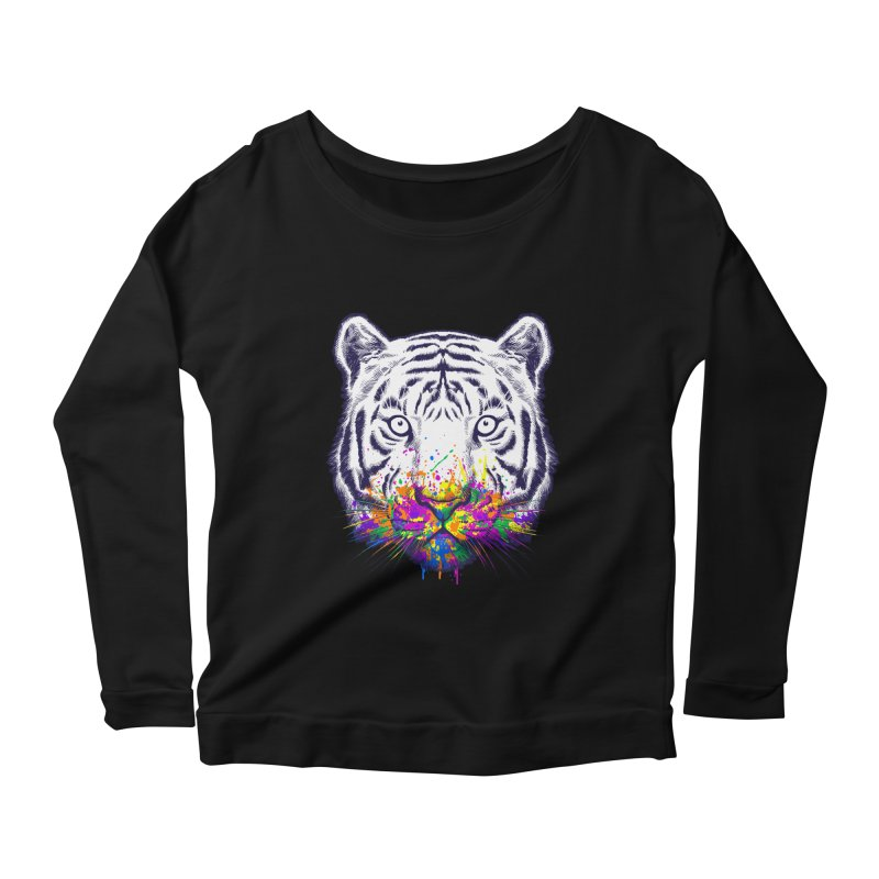 I didn't see rainbow Women's Scoop Neck Longsleeve T-Shirt by ES427's Artist Shop