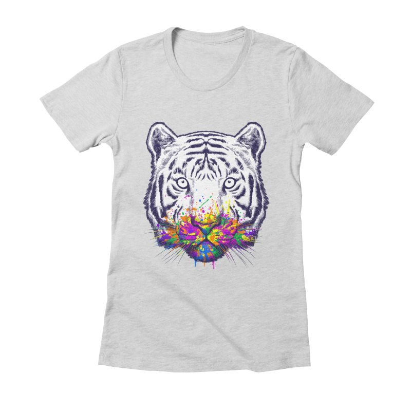 I didn't see rainbow Women's Fitted T-Shirt by ES427's Artist Shop