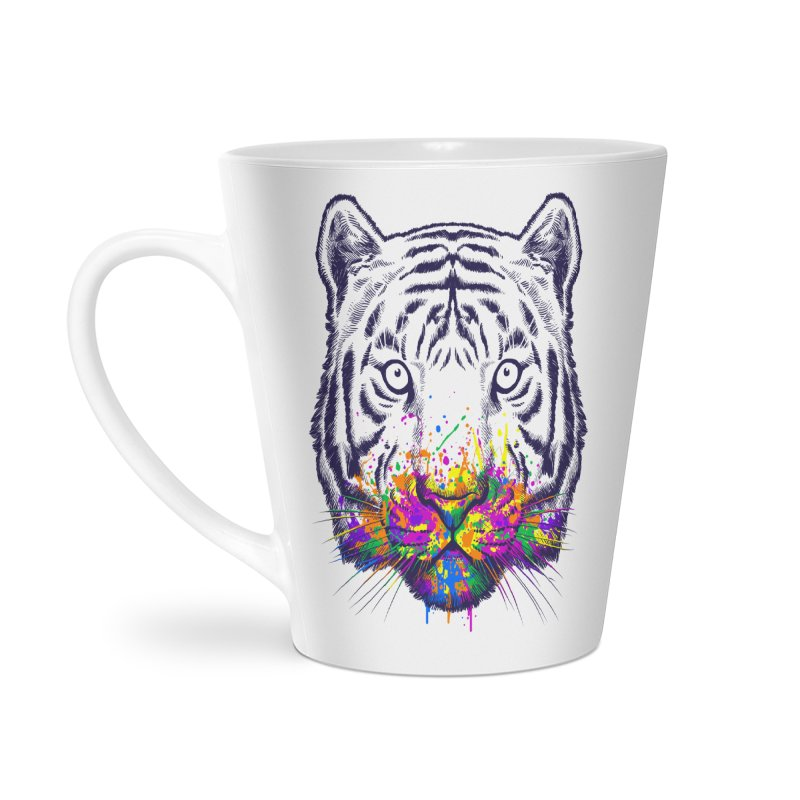 I didn't see rainbow Accessories Latte Mug by ES427's Artist Shop