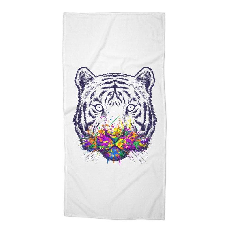 I didn't see rainbow Accessories Beach Towel by ES427's Artist Shop