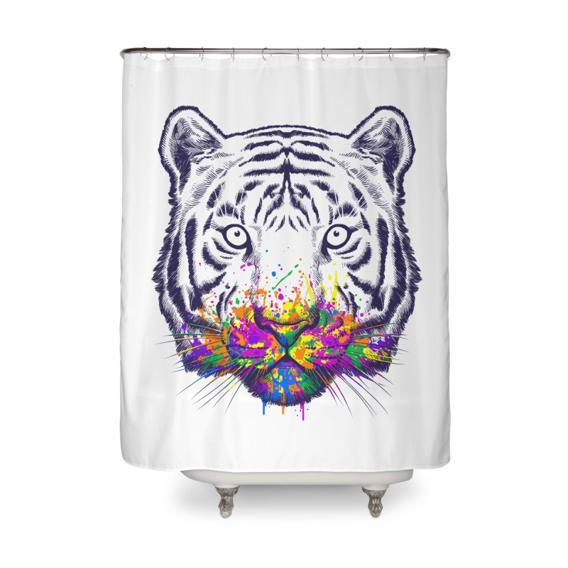 I didn't see rainbow Home Shower Curtain by ES427's Artist Shop