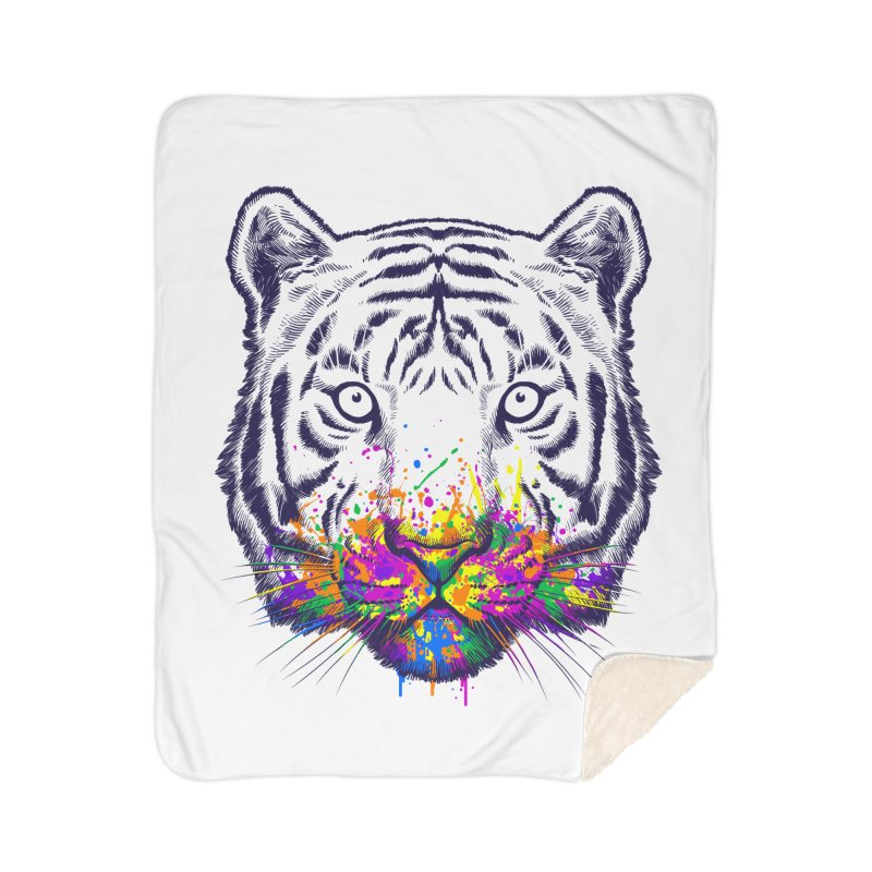 I didn't see rainbow Home Sherpa Blanket Blanket by ES427's Artist Shop