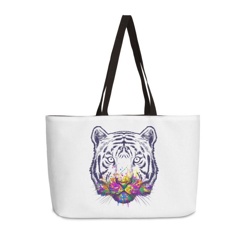 I didn't see rainbow Accessories Weekender Bag Bag by ES427's Artist Shop