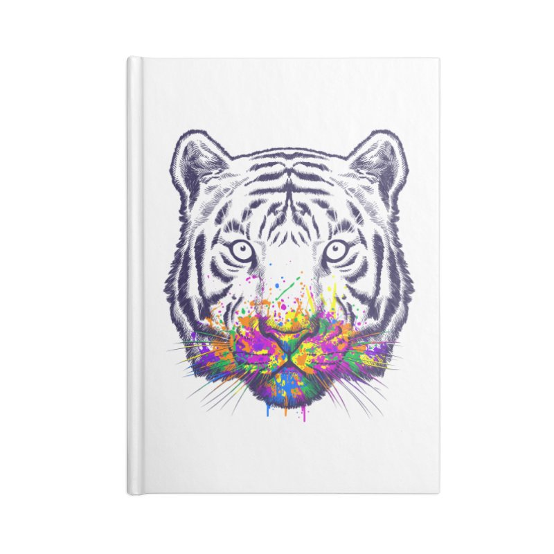 I didn't see rainbow Accessories Lined Journal Notebook by ES427's Artist Shop