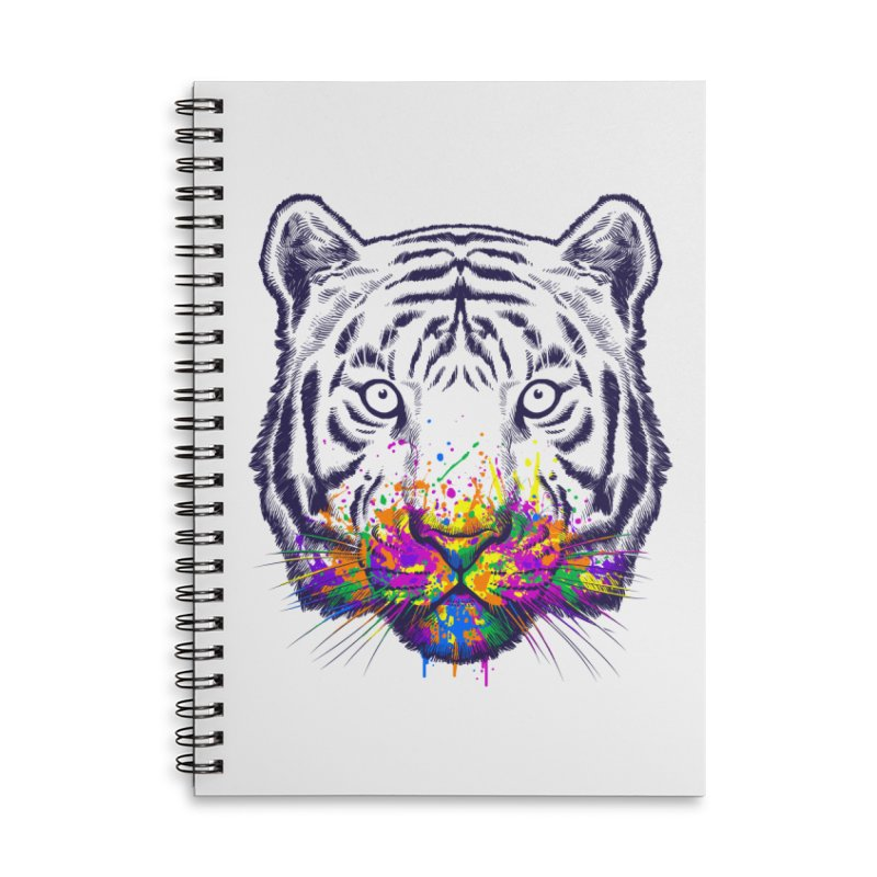 I didn't see rainbow Accessories Lined Spiral Notebook by ES427's Artist Shop