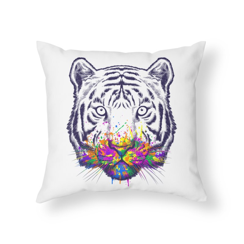 I didn't see rainbow Home Throw Pillow by ES427's Artist Shop