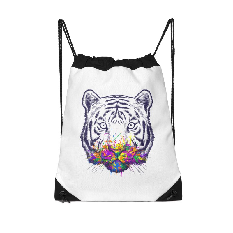 I didn't see rainbow Accessories Drawstring Bag Bag by ES427's Artist Shop