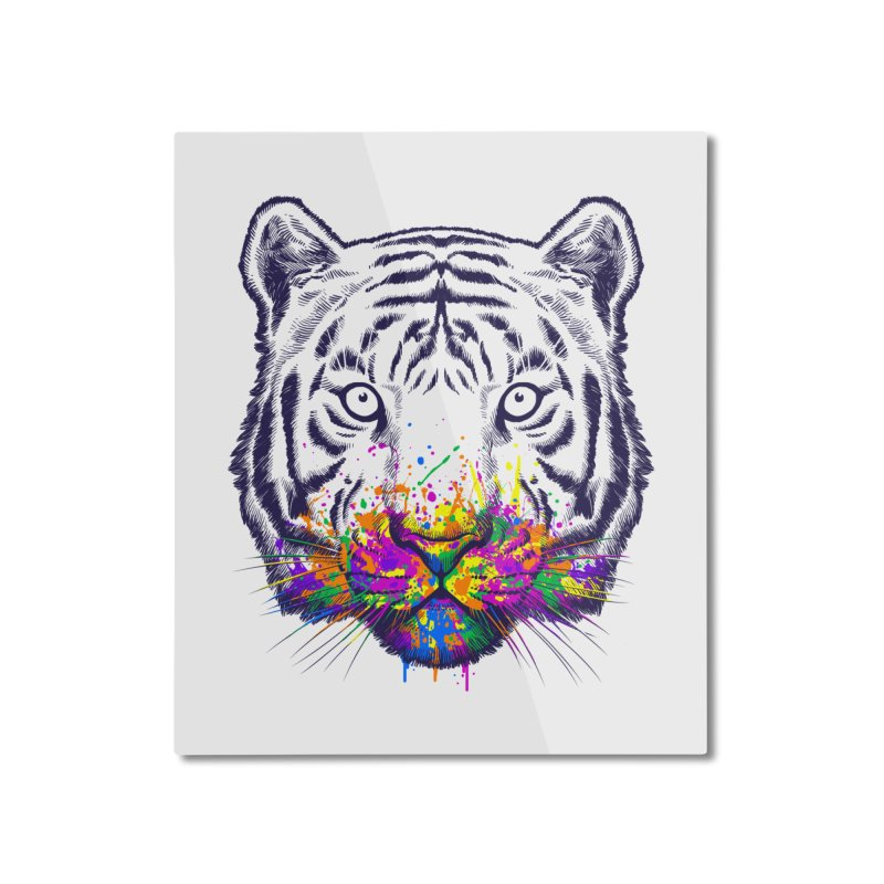 I didn't see rainbow Home Mounted Aluminum Print by ES427's Artist Shop