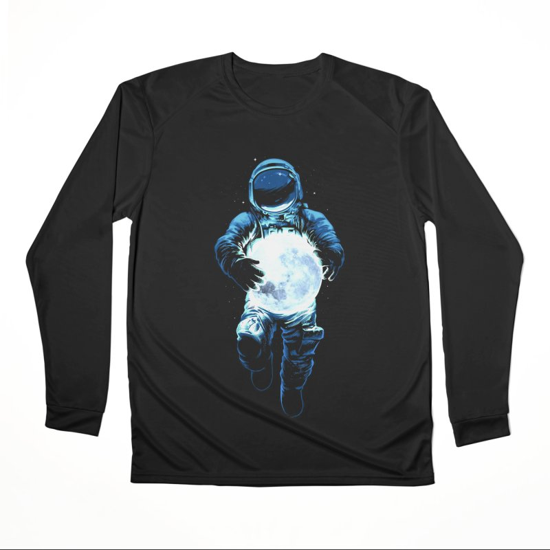 BRING THE MOON Women's Performance Unisex Longsleeve T-Shirt by ES427's Artist Shop