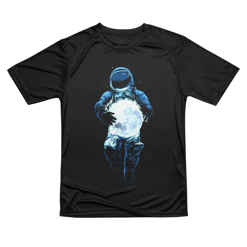 BRING THE MOON Women's Performance Unisex T-Shirt by ES427's Artist Shop