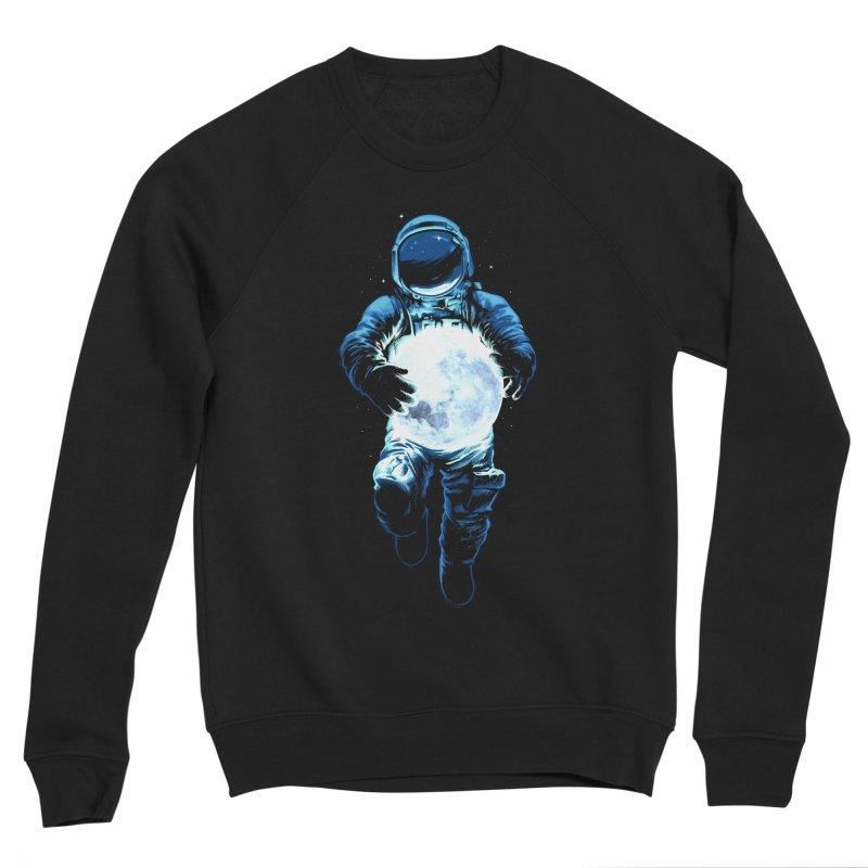 BRING THE MOON Men's Sponge Fleece Sweatshirt by ES427's Artist Shop