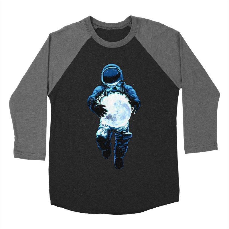 BRING THE MOON Women's Baseball Triblend Longsleeve T-Shirt by ES427's Artist Shop