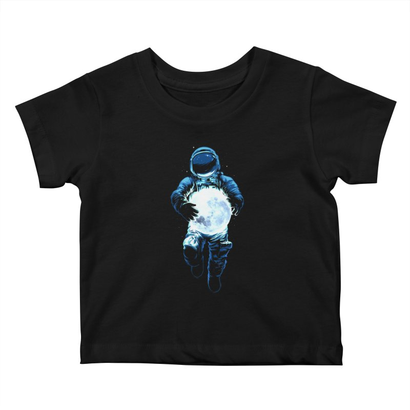 BRING THE MOON Kids Baby T-Shirt by ES427's Artist Shop