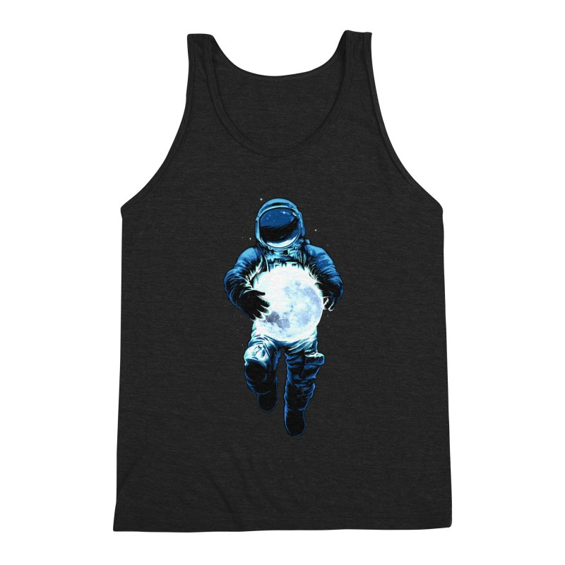 BRING THE MOON Men's Triblend Tank by ES427's Artist Shop