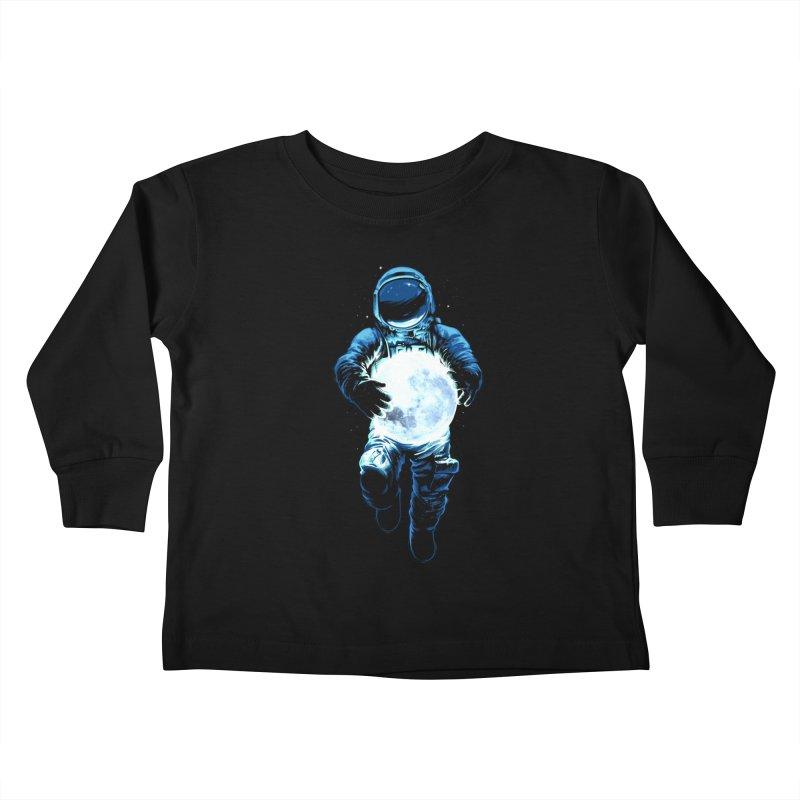 BRING THE MOON Kids Toddler Longsleeve T-Shirt by ES427's Artist Shop