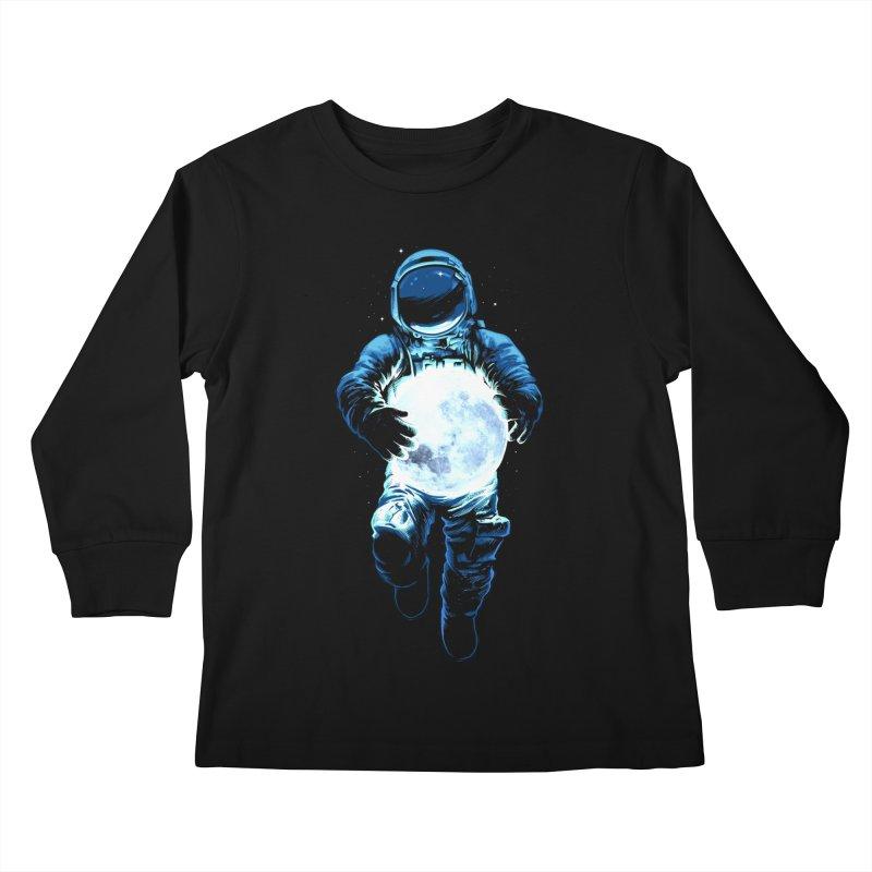 BRING THE MOON Kids Longsleeve T-Shirt by ES427's Artist Shop