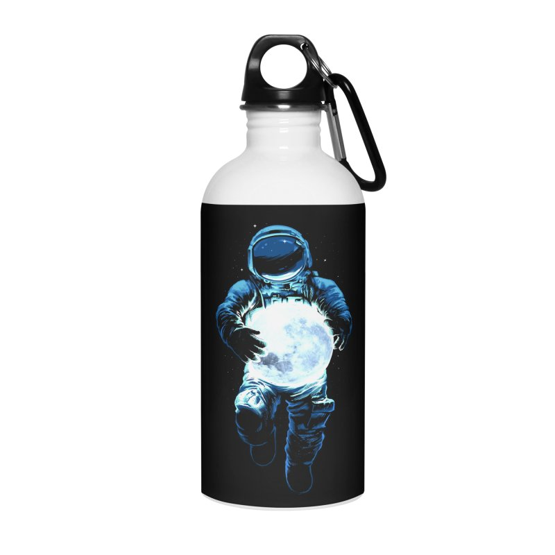 BRING THE MOON Accessories Water Bottle by ES427's Artist Shop