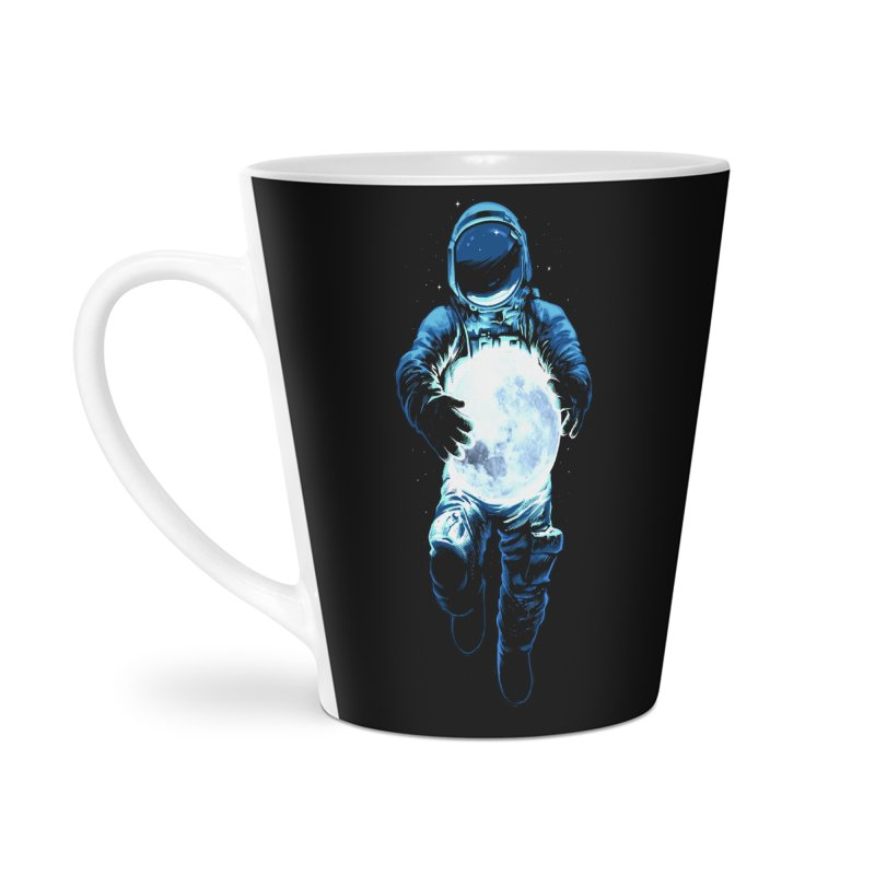 BRING THE MOON Accessories Latte Mug by ES427's Artist Shop