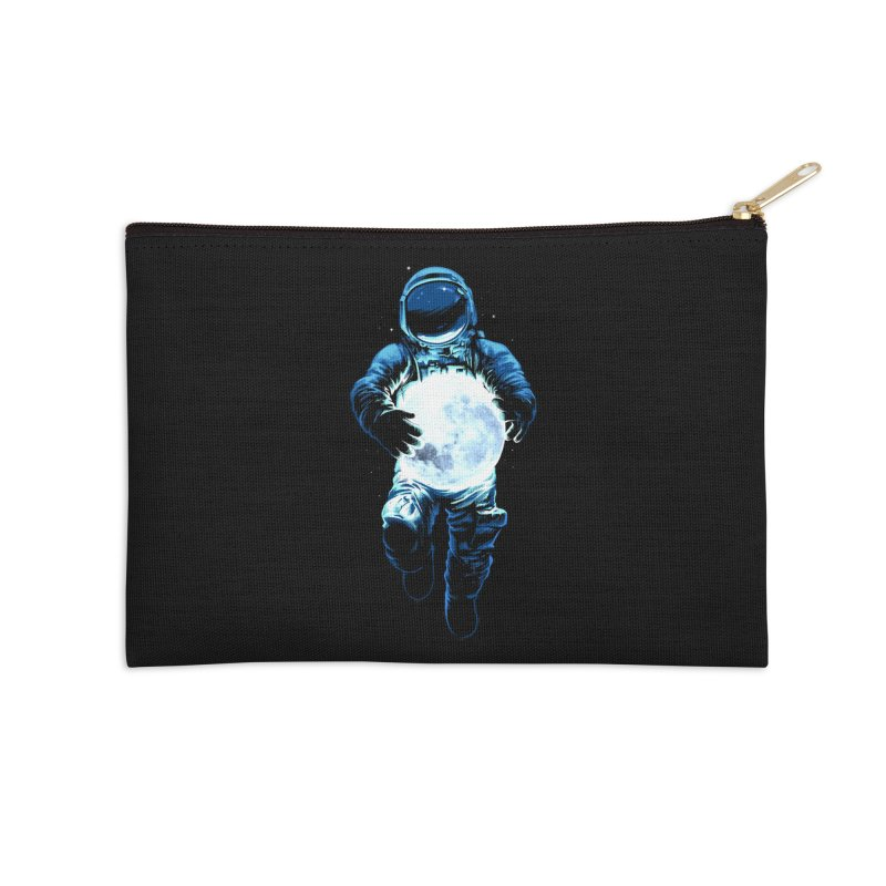 BRING THE MOON Accessories Zip Pouch by ES427's Artist Shop
