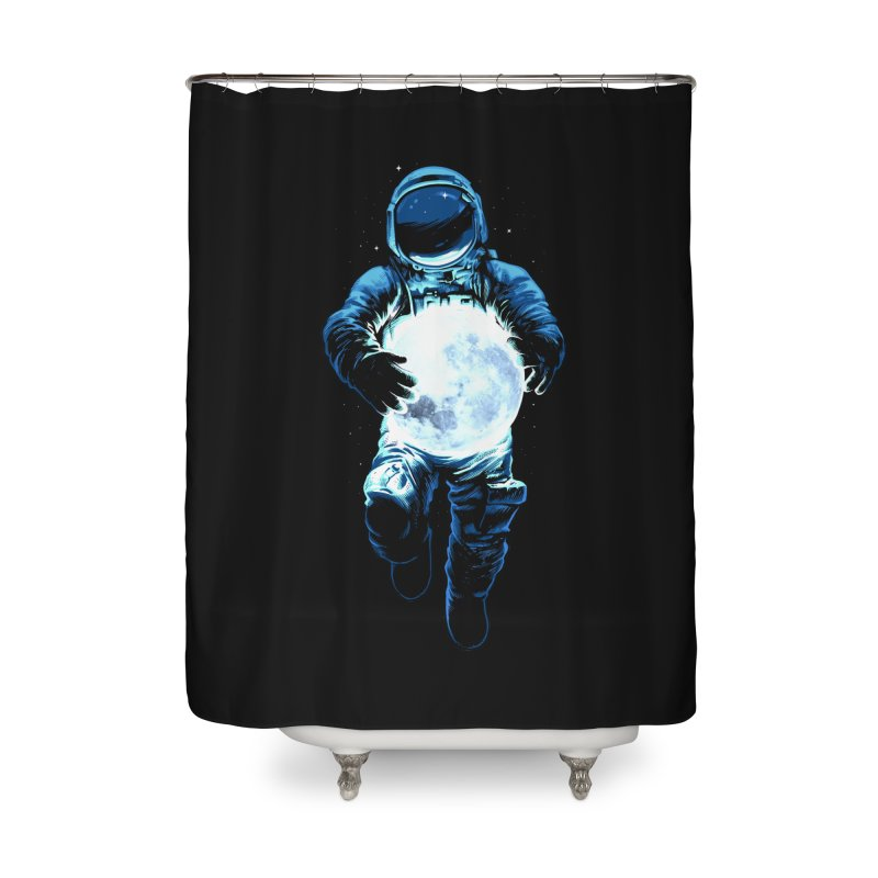 BRING THE MOON Home Shower Curtain by ES427's Artist Shop