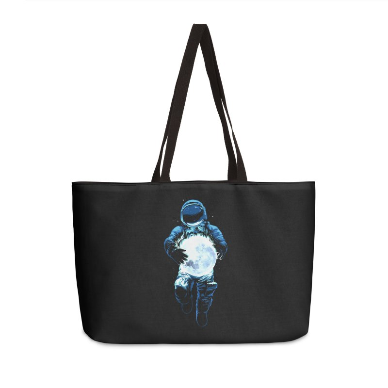 BRING THE MOON Accessories Weekender Bag Bag by ES427's Artist Shop