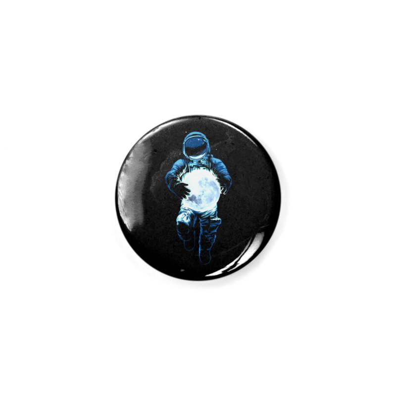 BRING THE MOON Accessories Button by ES427's Artist Shop