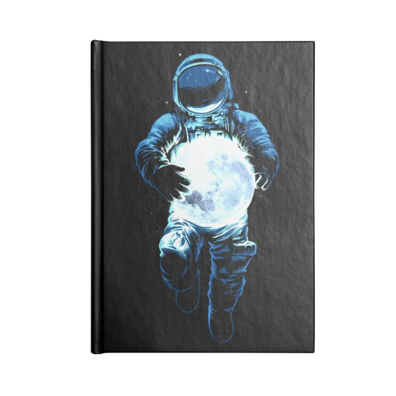 BRING THE MOON Accessories Lined Journal Notebook by ES427's Artist Shop