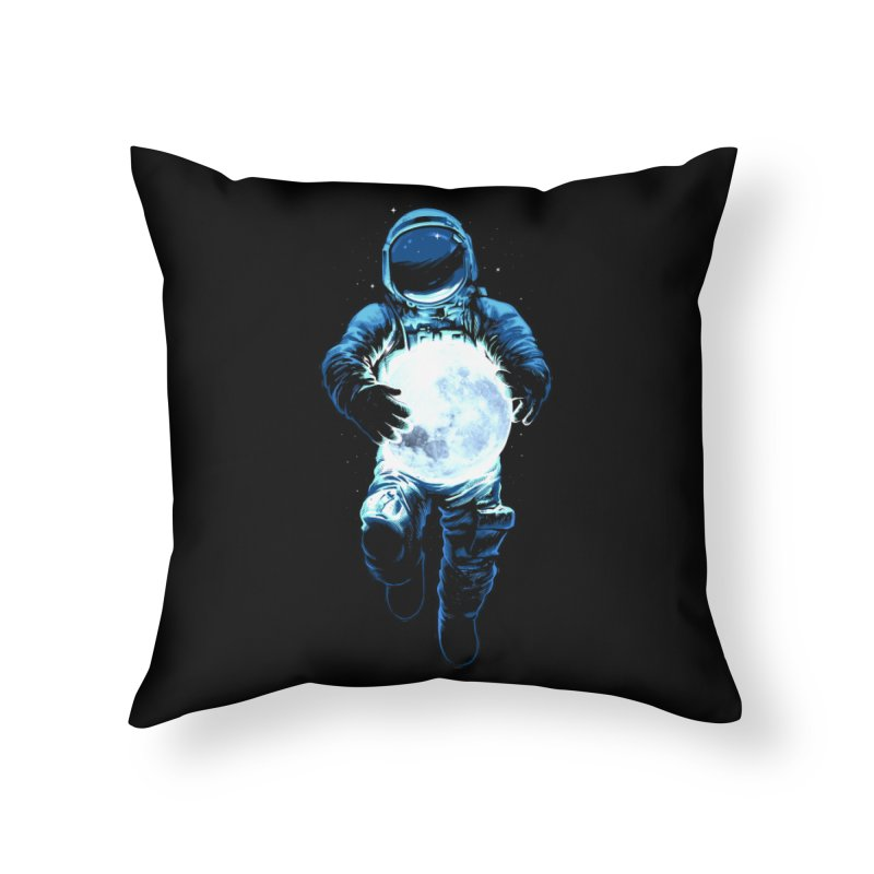 BRING THE MOON Home Throw Pillow by ES427's Artist Shop