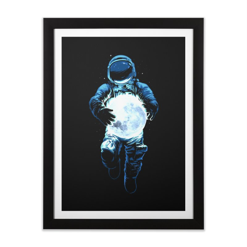 BRING THE MOON Home Framed Fine Art Print by ES427's Artist Shop