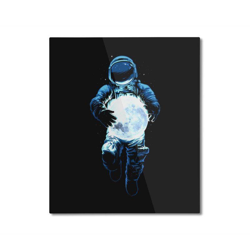 BRING THE MOON Home Mounted Aluminum Print by ES427's Artist Shop