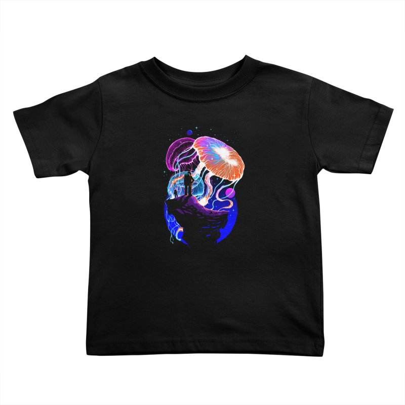 Exploration of the jellyfish planets Kids Toddler T-Shirt by ES427's Artist Shop