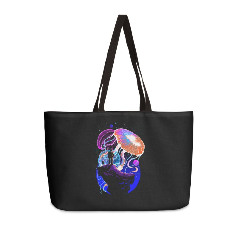Exploration of the jellyfish planets Accessories Weekender Bag Bag by ES427's Artist Shop