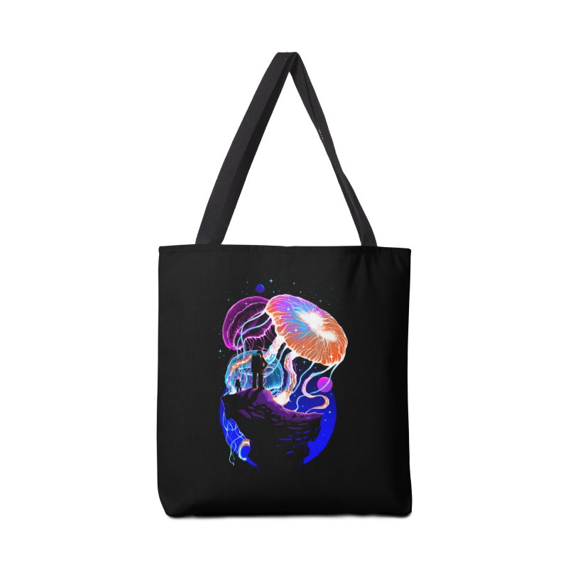 Exploration of the jellyfish planets Accessories Tote Bag Bag by ES427's Artist Shop