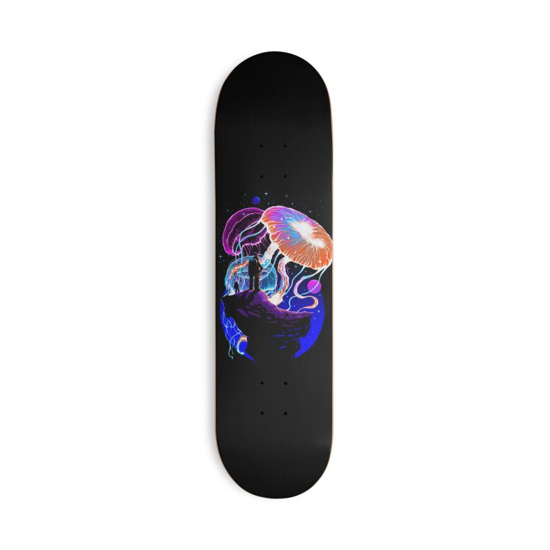 Exploration of the jellyfish planets Accessories Deck Only Skateboard by ES427's Artist Shop