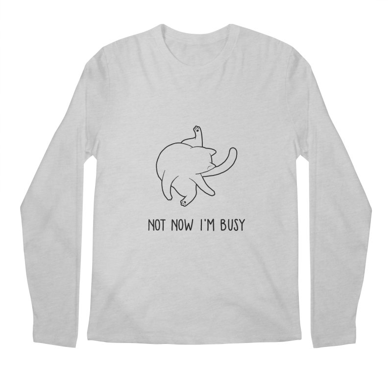 BUSYCAT Men's Longsleeve T-Shirt by ES427's Artist Shop