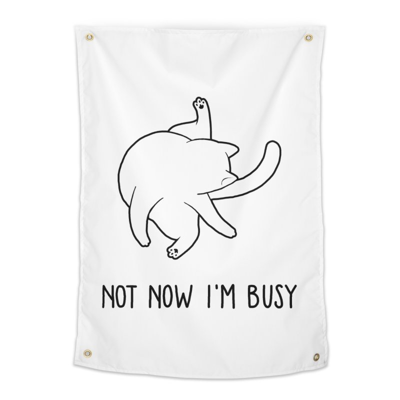 BUSYCAT Home Tapestry by ES427's Artist Shop