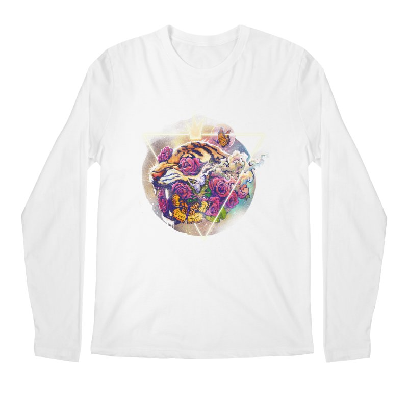 Tiger Men's Longsleeve T-Shirt by ES427's Artist Shop