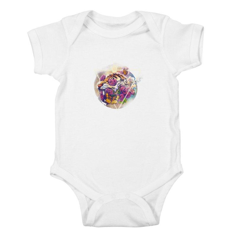 Tiger Kids Baby Bodysuit by ES427's Artist Shop