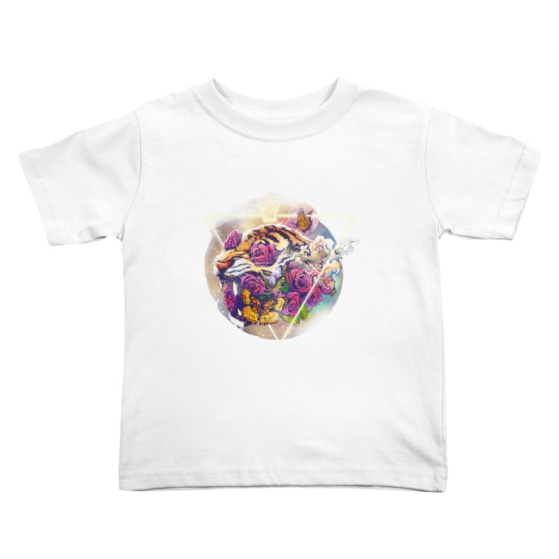 Tiger Kids Toddler T-Shirt by ES427's Artist Shop