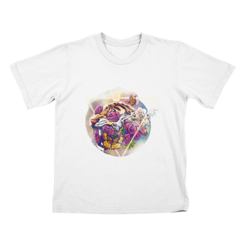 Tiger Kids T-shirt by ES427's Artist Shop