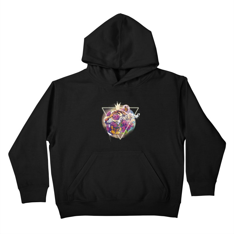 Tiger Kids Pullover Hoody by ES427's Artist Shop