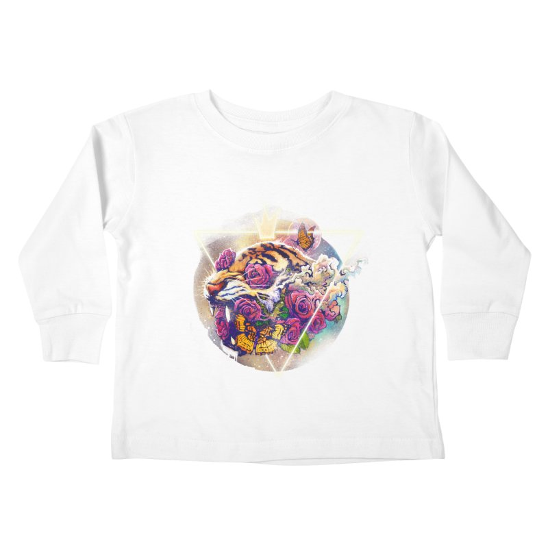 Tiger Kids Toddler Longsleeve T-Shirt by ES427's Artist Shop